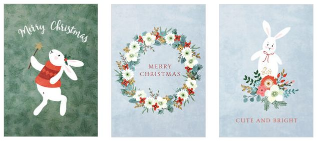 Christmas Greeting Ecards (P-Christmas Bundle 980+)