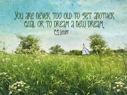 Dream a New Inspirational Wallpaper Dream by C.S. Lewis