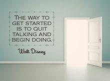 Begin Doing