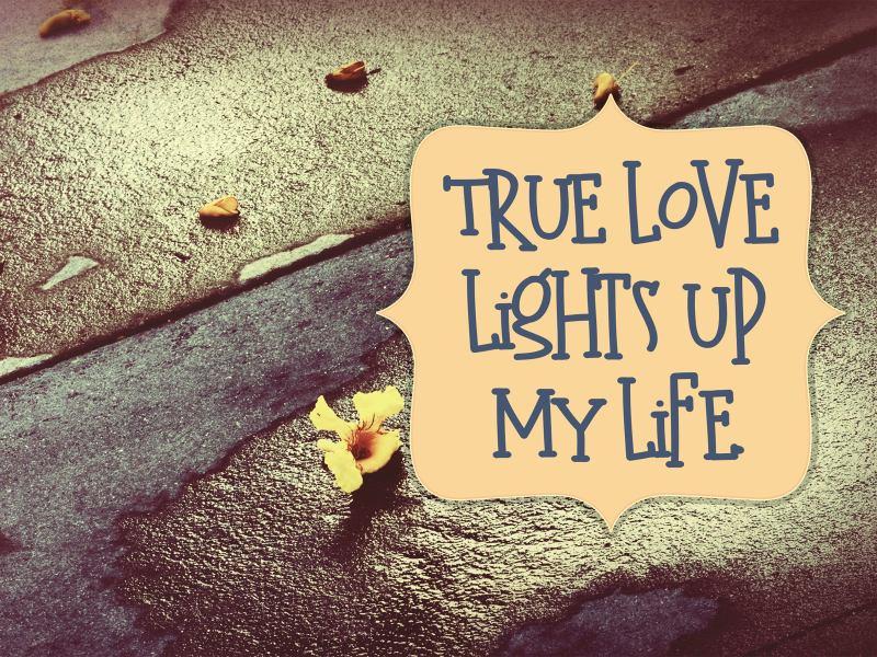 True Love Lights Up My Life