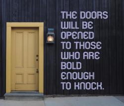 Door Will Be Opened