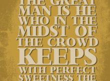 Great Man by Ralph Waldo Emerson