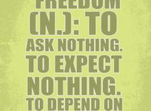 Freedom by Ayn Rand