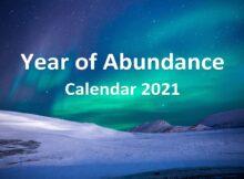 Year of Abundance Calendar