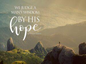 Man's Wisdom by Ralph Waldo Emerson